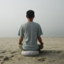 meditation yoga beach