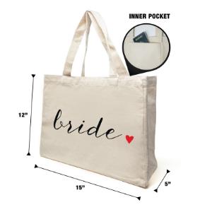 bridal tote bags