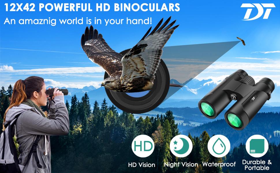 Binculars for bird watching
