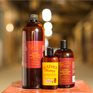 Keep your wallets, boots, and handbags conditioned with Leather Honey Leather Conditioner.