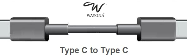 Type C to Type C cable for macbook USB Type C to US Type C Cable PD Charging cable