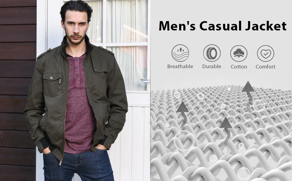 Men's Military Casual Jacket