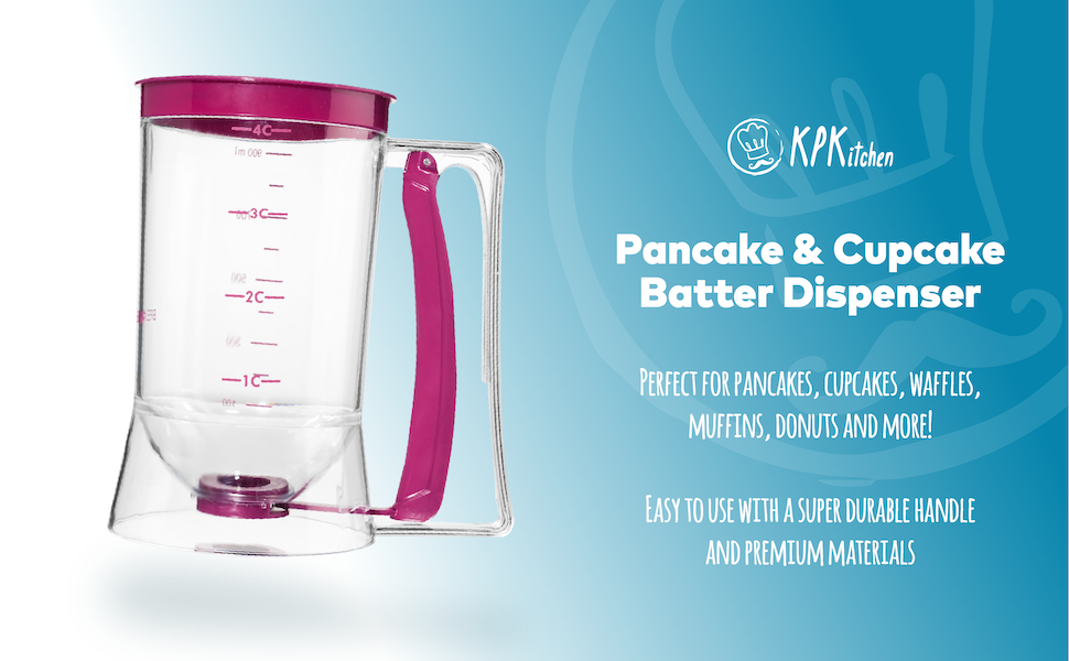 KPKitchen Pancake & Cupcake Batter Dispenser