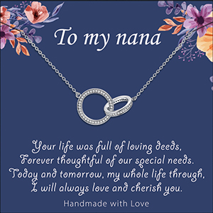 nana gifts, gifts for nana,nana gifts for christmas,nana necklace,mothers day gifts for nana