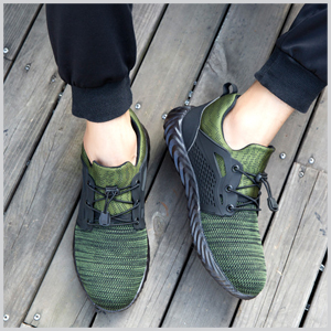 L/ég/ères et Confortables Fadezar Chaussures de S/écurit/é avec Embout Acier pour Homme Femme Taille 36-48
