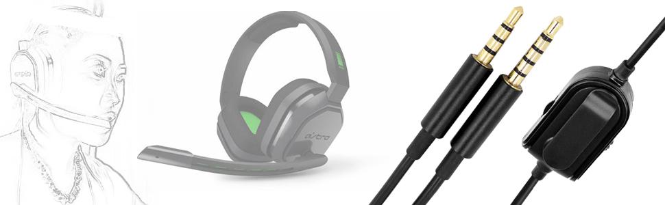 astro 10 headset cord