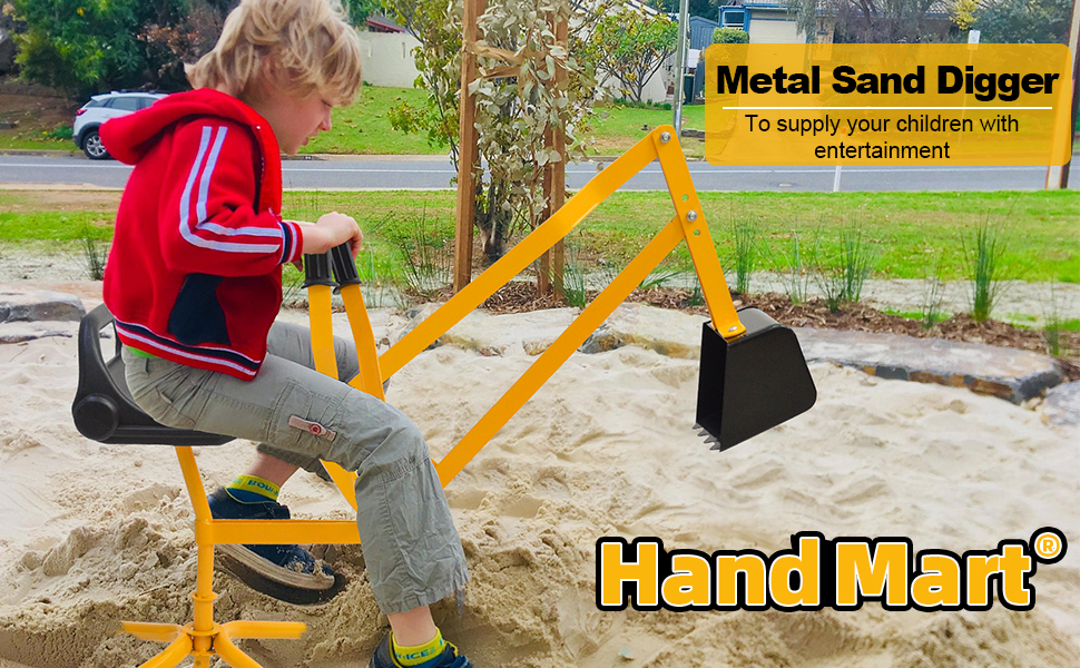 sand digger for boy