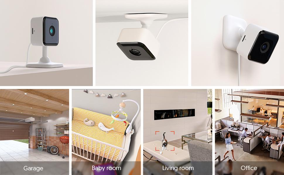 Teckin cam wifi camera security camera IP camera indoor camera baby monitor CCTV camera wireless cam