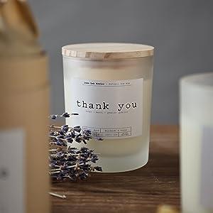 Candele profumate con oli essenziali per Natale, in barattolo di vetro, profumate con candele, regalo di Natale