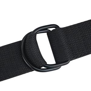 cloth belt double ring belt no buckle belt for men for women canvas belt