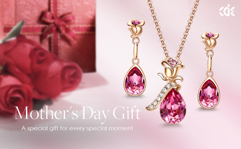 jewelry sets for women mother's day necklace earrings sets