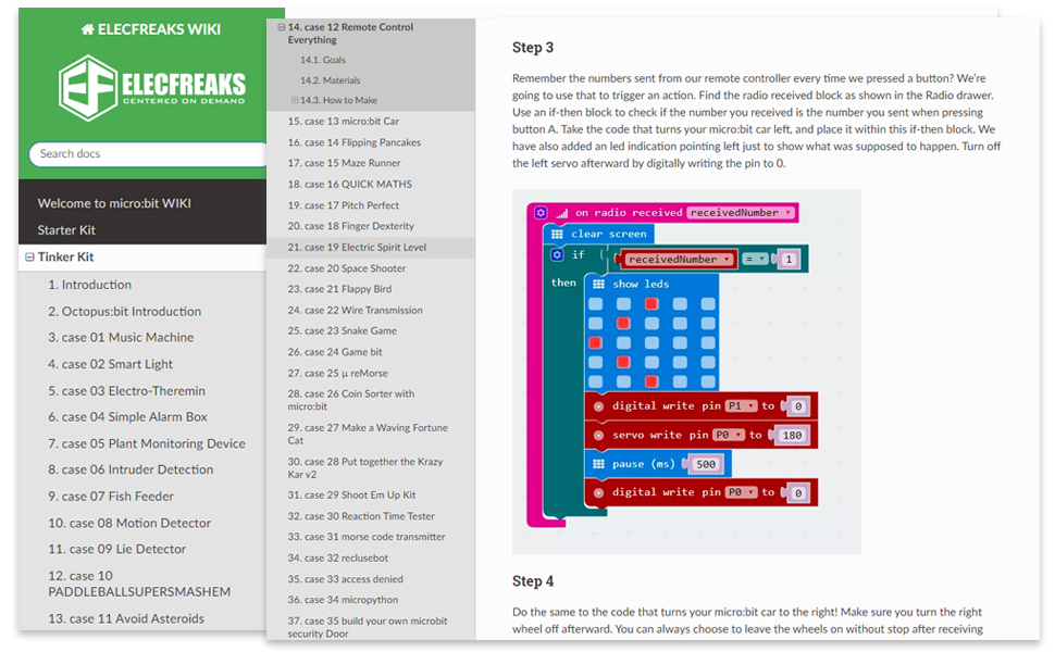 microbit thinker kit for kids