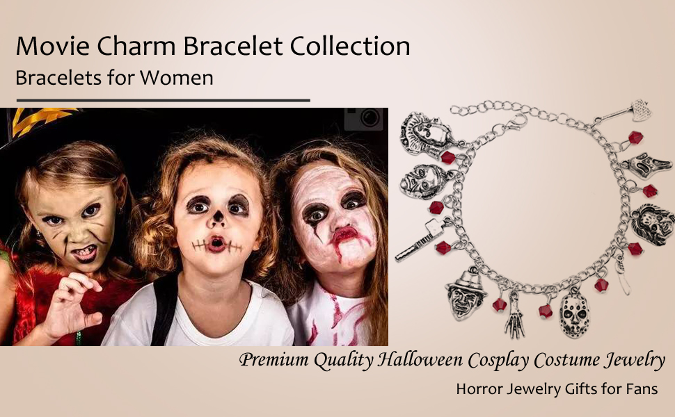 Super Game Movie Charm Bracelet for women