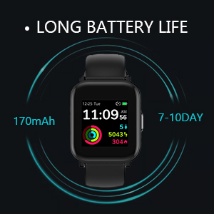 Up to 10 Days Battery