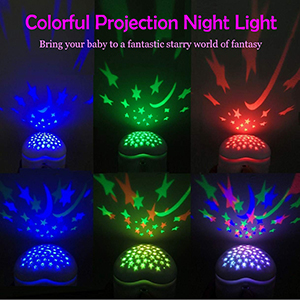 3 colors projection