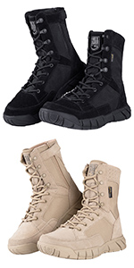 8 Inches Tactical work Boots