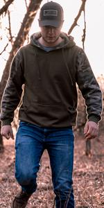 Camo Hoodie sweatshirt venado whitetails deer