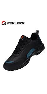 Zapatillas de Seguridad Mujer Zapatos de Trabajo Absorción de choques Colchón de Aire Ligero