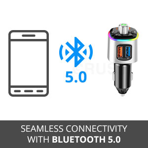 Crust Car Bluetooth FM Transmitter