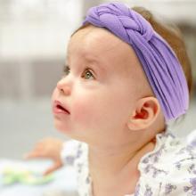 6-12 Pack Baby Girl Cute Headband Headwraps Elastic Bunny Ears Hair Band Holder2