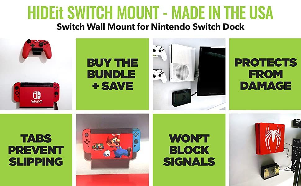 HIDEit Nintendo Switch Wall Mount