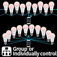Group or Individually Control