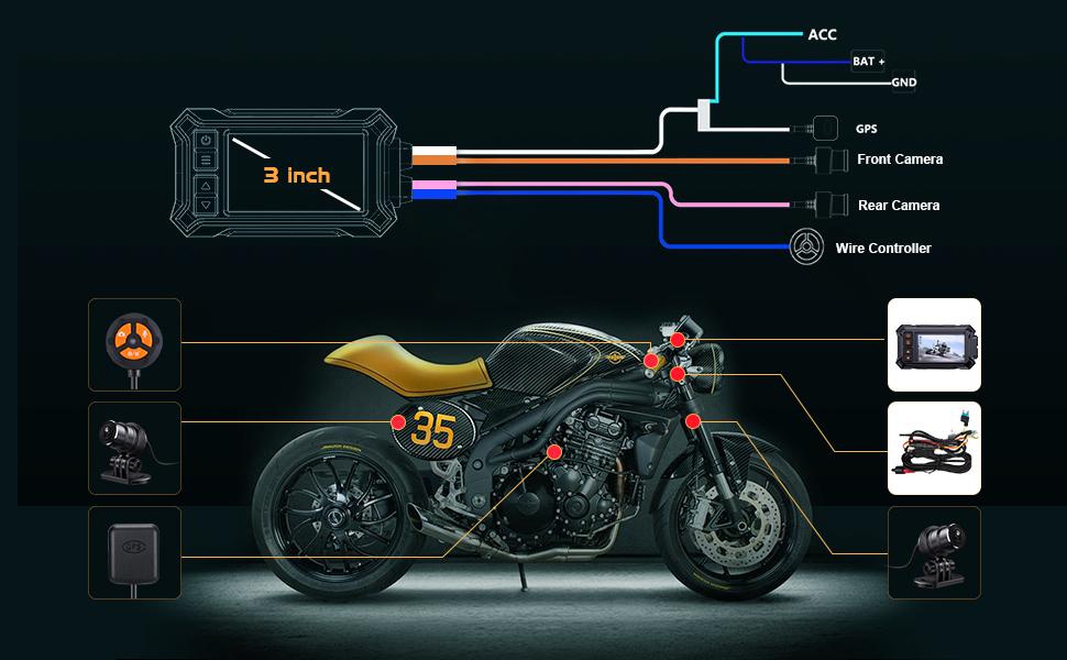 Motorcycle Dashcam
