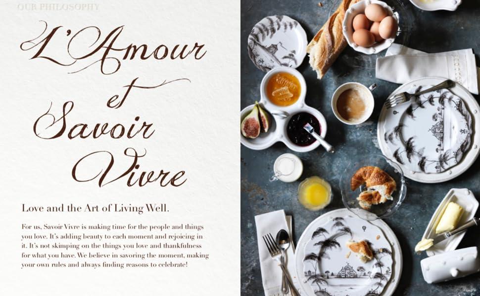 juliska berry and thread dishware, ceramic stoneware, ceramic dinnerware, plates, dishes, bowls