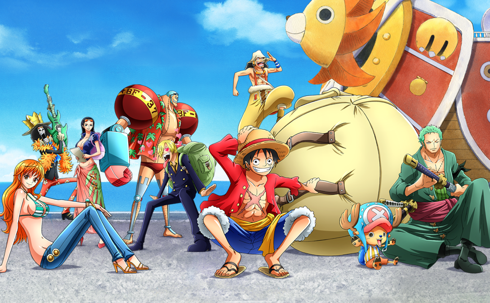 Anime Action Adventure Fantasy Pirate King Treasure Grand Line Monkey Luffy Nami Usopp Sanji Roronoa
