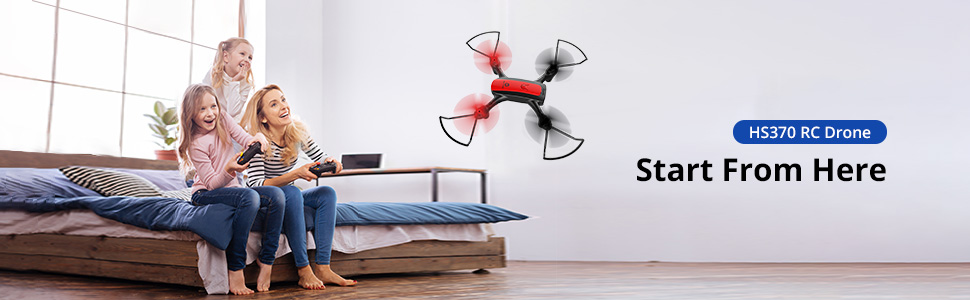 HS370 drone with camera
