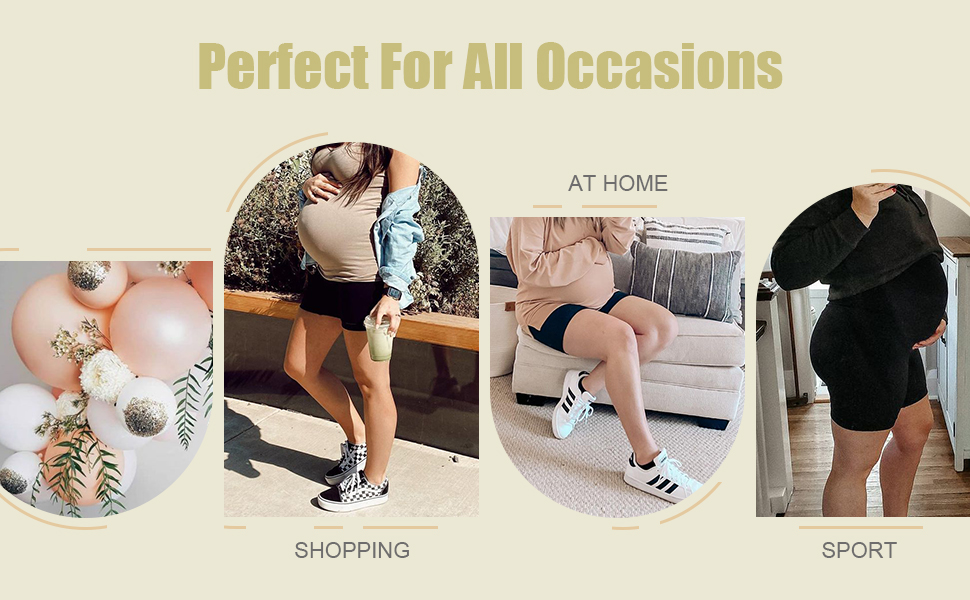 maternity activewear maternity shorts tights summer clothes mom gifts over the belly swim shorts