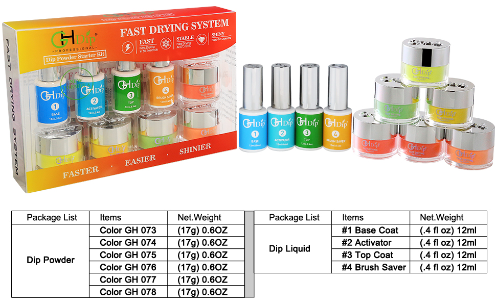 nail dip powder kit