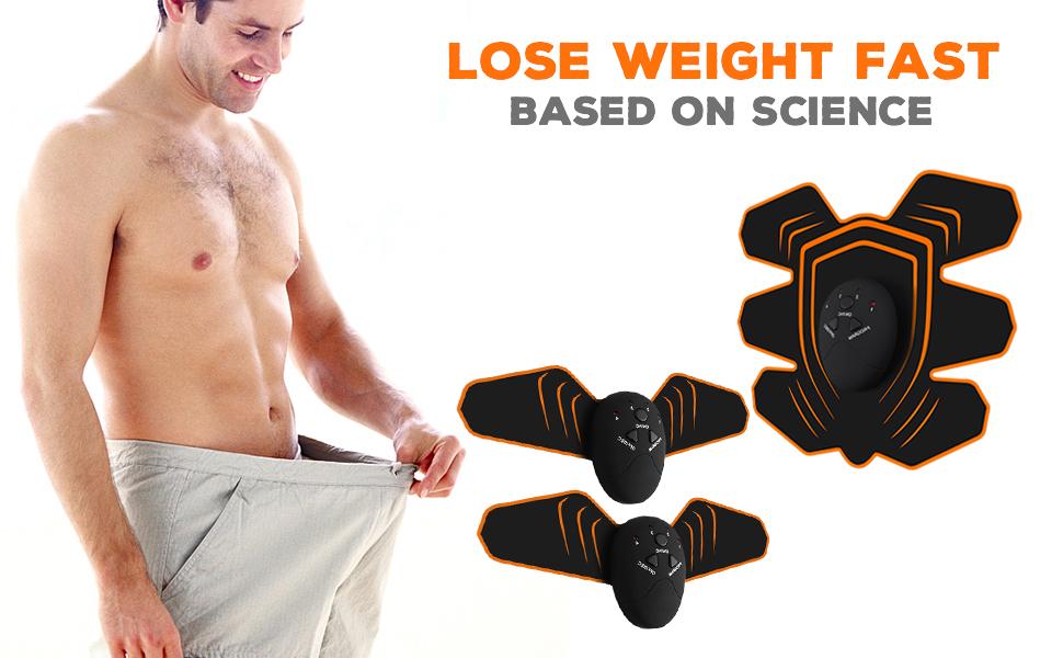 COSBITY ABS Stimulator,Ab Machine,Abdominal Toning Belt Workout Portable Ab Stimulator Home Office Fitness Workout Equipment for Abdomen//Arm//Leg