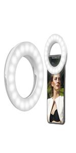 selfie luz anillo