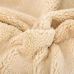 Pet Puppy Cat Fleece Sherpa Sofa Throw Blanket