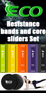 Resistance bands and core sliders