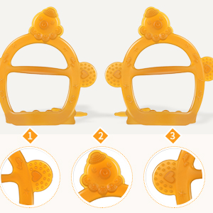 multiple surfaces teether