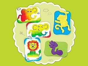 Stamp Art Craft Activity Sets
