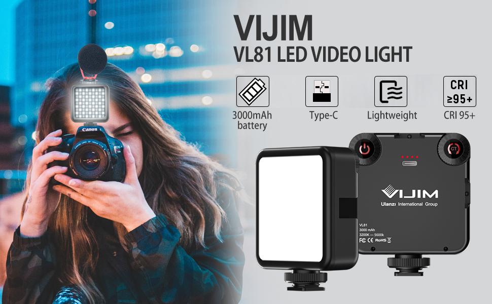 VIJIM VL81 LED VIDEO LIGHT