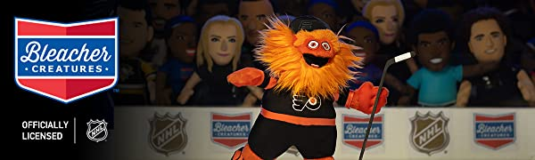 Bleacher Creatures Philadelphia Flyers Gritty 10 Mascot Plush Figure