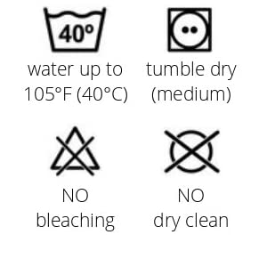 Lusie's Linen Washing Care Instructions