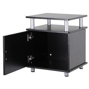 moderno tavolino per la casa la camera da letto Armadietto laterale comodino per sala da pranzo con 3 cassetti