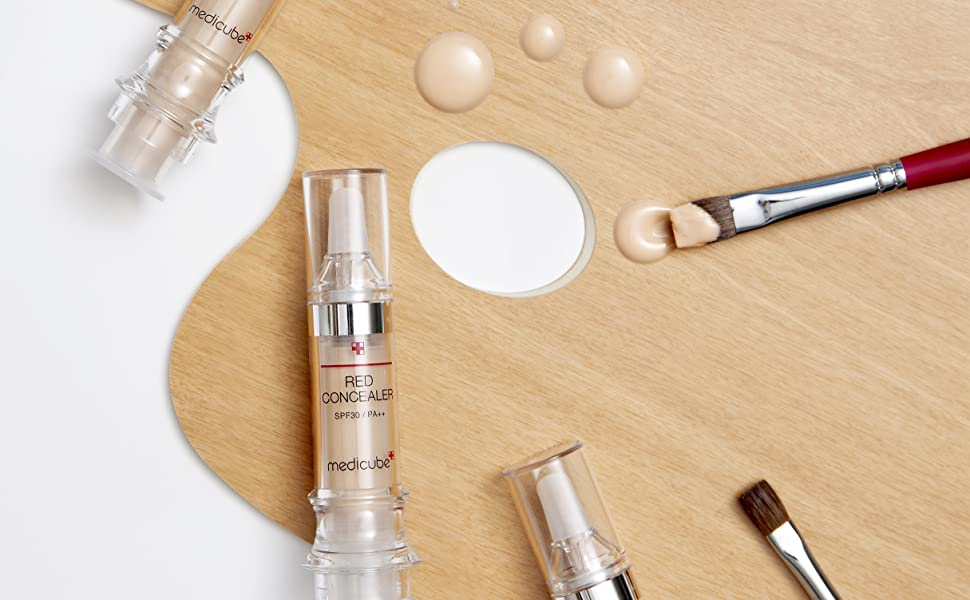 red concealer acne prone deep coverage