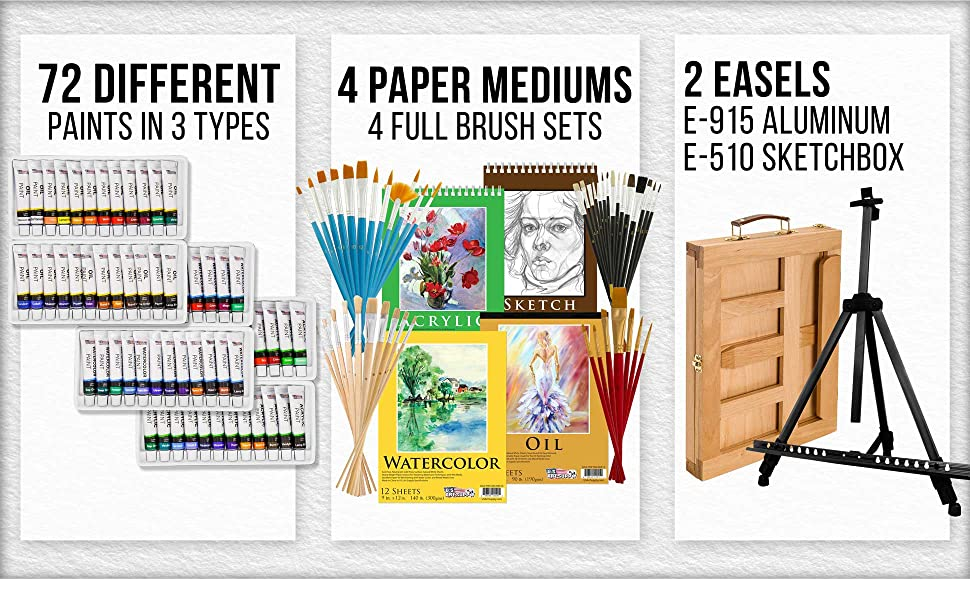 Deluxe Painting set for Artists
