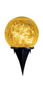 jhbox solar lights, backyard decoration light, landscaping light, solar lights outdoor, globe lights