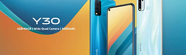 vivo;Y30;smartphone;android;sim free mobile;mobile phone;quad camera