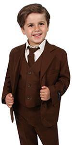 Brown, suit casual, linen, cotton, summer