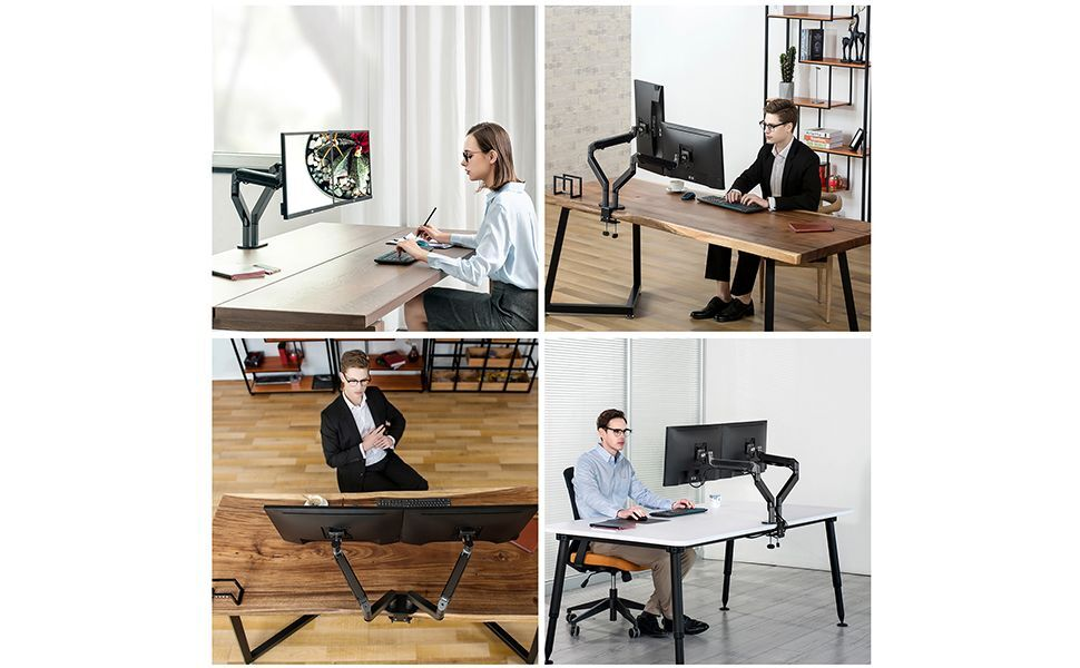 wide application monitor office stand riser