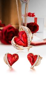 Pink Angel Jewelry Set