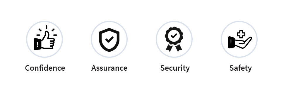 confidence assurance security safety